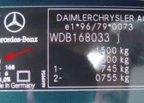 kleurnummer Mercedes